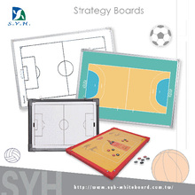 Magnetic basketball coach exercise board