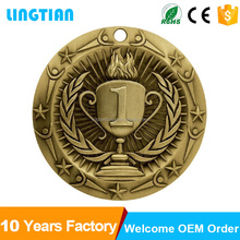China factory wholesale make your own custom metal sport medallion