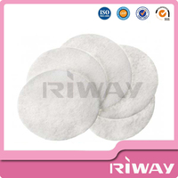 China bulk makeup remover cotton pads, cotton eye pad