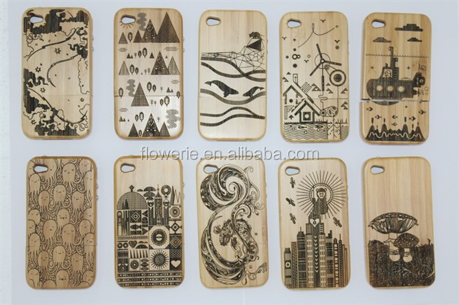 FL2534 case for iphone 6, wood case for iPhone 6, bamboo case for iphone 6