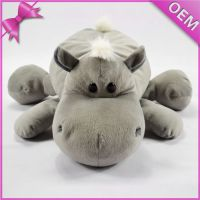 Children favor toys cheap soft animal hippo plush toy for Christmas