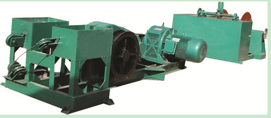 Twist angle square steel machine