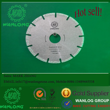 115mm Wanlong multi-purpose Vacuum brazed diamond saw blade for cutting marble and other soft stone
