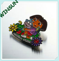 cartoon Dora metal giveaway fridge magnet