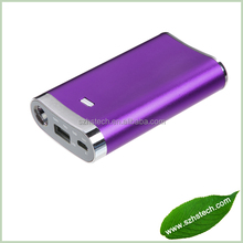 Mini Power Bank With Flashlight, 6600mah Mobile Power bank for Blackberry/Samsung