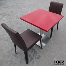 Chinese solid surface stone dining table kids mushroom table and chairs