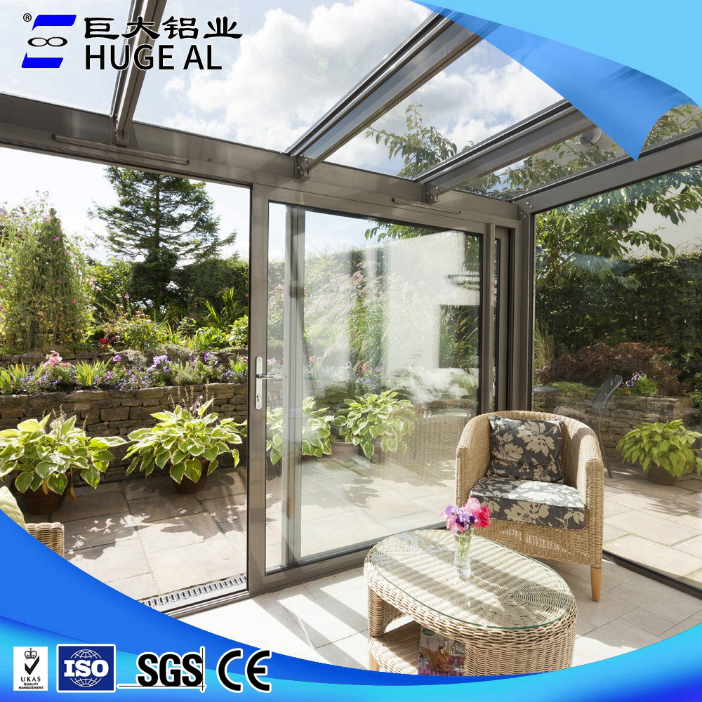 Elegnt style beautiful easy DIY aluminum sunroom
