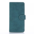 2017 Hot Sale Retro Matte Flip Wallet Leather Phone Case For iPhone 7
