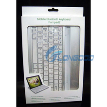 High Quality Aluminum Wireless Bluetooth 3.0 Keyboard For IPad2