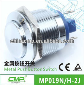 19mm Bank Door Release Micro Push Button Switch( Rohs ,CE)