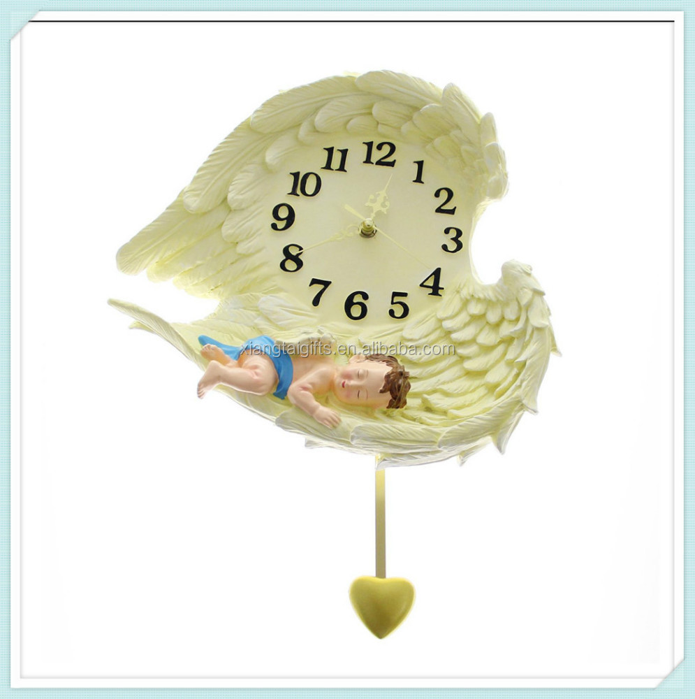 Resin Angel Clock, Resin Angel Clock Suppliers and Manufacturers at ...