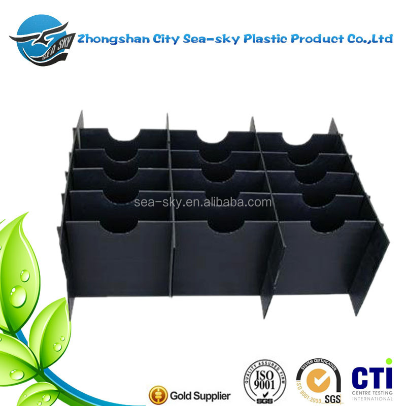 plastic packing box for electrical parts package