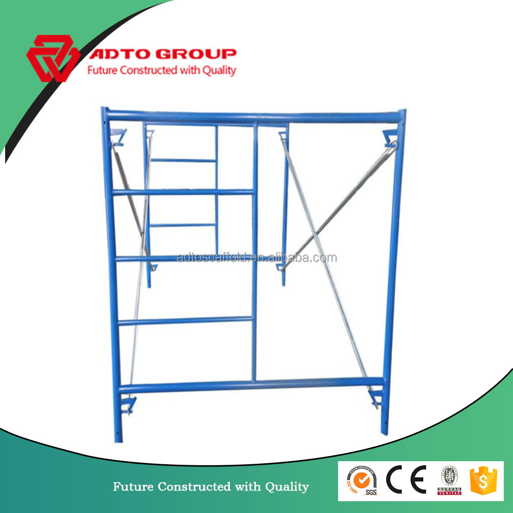 Best Price North America Style CA Lock Ladder Frame Scaffolding For Sale