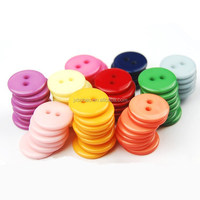 11.5MM fashion style two holes resin button for clothing bags shoes hats decorative