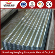Multifunctional zinc coated color curving corrugated steel roof sheet