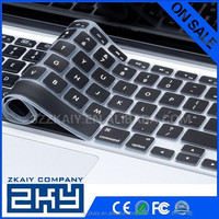 "High Quality Custom Logo Printing Silicone Laptop Keyboard Cover Skin For MacbookAir Pro 11""13"" 15"""