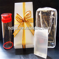 Christmas design foldable corrugated plastic packing box