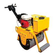 Mini compactor vibrating hydraulic road roller capacity smooth wheel roller for sale