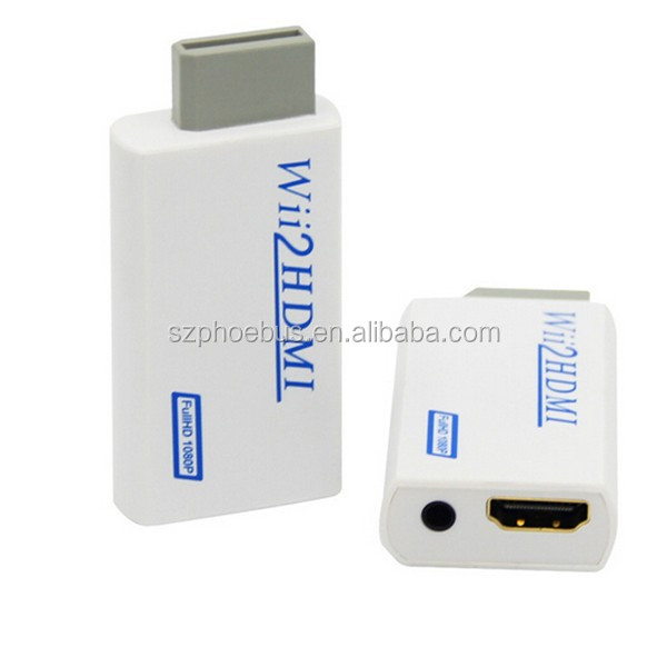 Factory cheap price converter for wii adapter game accessories 720P/1080P