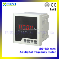 Hot sale Class 0.5 80*80mm LED digital frequency meter