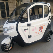 Passenger Closed Body Type Electric Car/Solar Tricycle Taxi/Tricycle For Adult