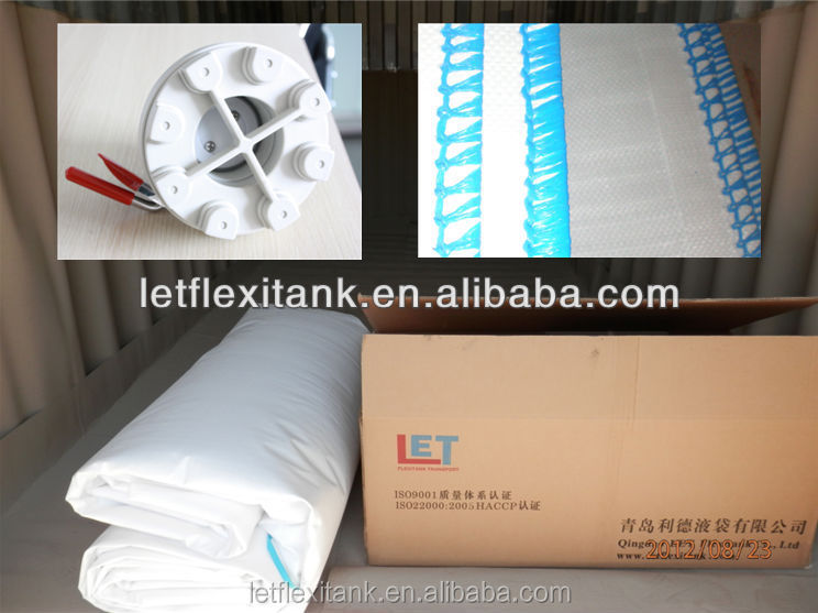 crude glycerin packing transport flexibag,container flexitank