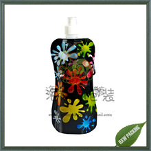 vitamin energy drinking packaging stand up water bag with spout
