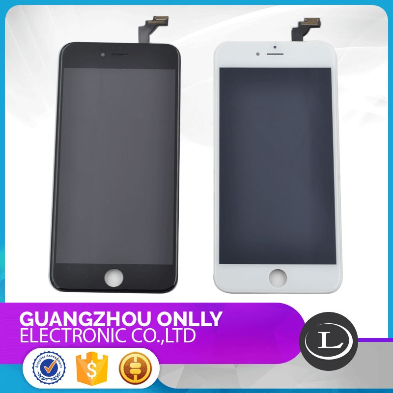 Factory Wholesale Price LCD for iPhone 6 Plus LCD Screen with Touch Screen,spareparts for iPhone 6 plus Screen