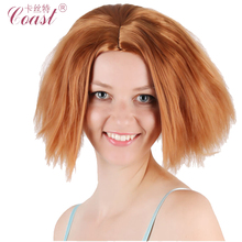 Hot Movie The Crooks Eep Cosplay Wigs Fluffy Short Curly Cosplay Wigs for Wholesale