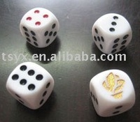 16 mm Acrylic toy dice