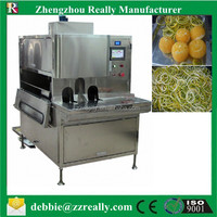Fruit Peeling Machine for Lemon/ Orange/Melon, Auto Fruit Peeler and Cutter on Sale