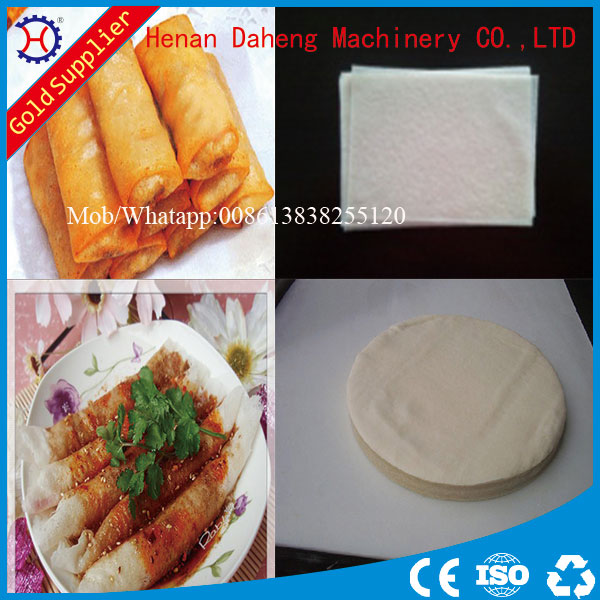 Lumpia Wrapper/ Samosa sheet pastry making machine for sale