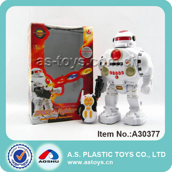 Best Selling RC plastic programmable robot toy