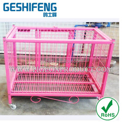 2016 Hot sale Chinese many color metal pet dog cage for dog