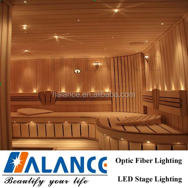 sauna optic fiber star ceiling lighting buy sauna optic. Black Bedroom Furniture Sets. Home Design Ideas