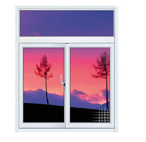 Aluminium frame fixed or sliding glass window, custom made glass window with aluminium frame