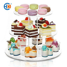 Promotion acrylic cupcake display