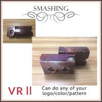 google vr google cardboard 2.0 virtual reality 3d 3d glasses paper custom printing available any color
