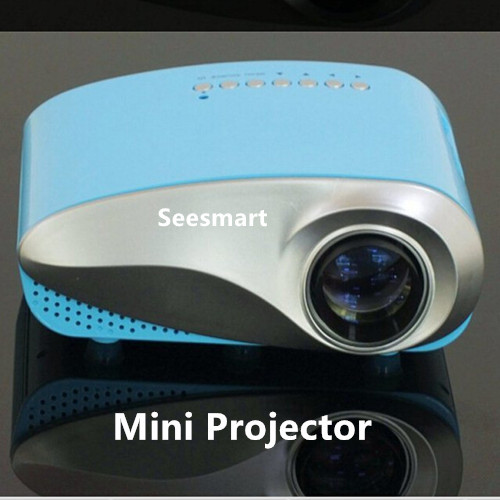 Factory Directly LCD Projector 802 Support 1080P 500:1 Constrast Ratio Portable Mini Projector