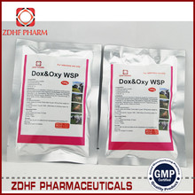 veterinary antibiotic medicine company Doxycycline and Oxytetracycline Soluble Powder for broiler/chicken