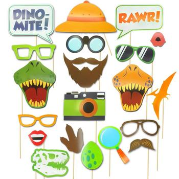 Dinosaur Photo Booth Props Dinosaur Photobooth Props Dinosaur Birthday Party Supplies