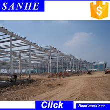 light frame customized muti-storey steel structure construction