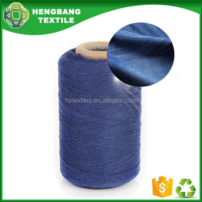 20s open end regenerated blended cotton denim yarn waste price chat