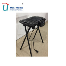 Korean Hot Sale Portable Smokeless X Type Legs Electric BBQ Grill
