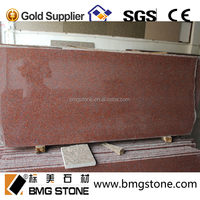Popular Cheap India Red Granite for countertop tiles