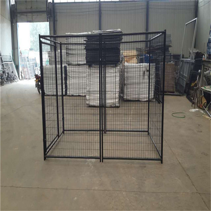 2015 Various useful customizable hot sale cheap powder coating wrought iron galvanized outdoor dog cages/dog kennels