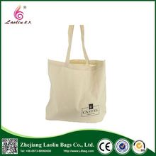 Latest arrival cheap foldable plain tote canvas shopping bags with logo printed