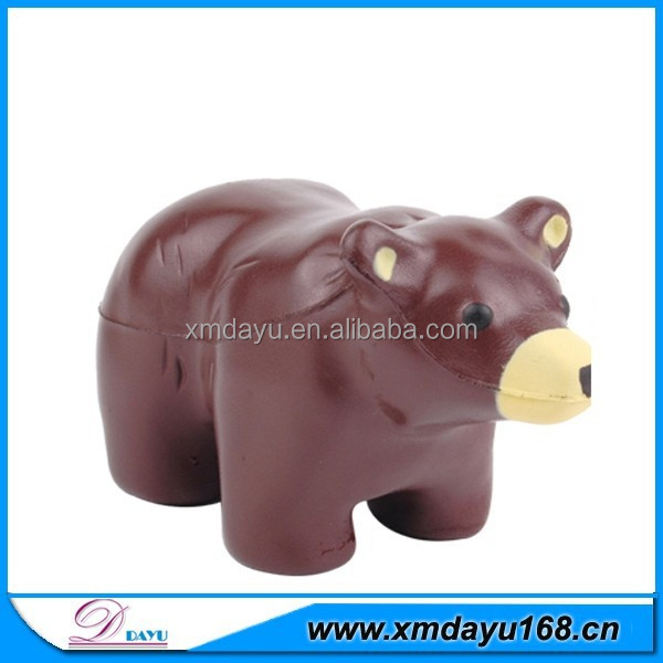 Promotional Toy Bear Shape stress ball