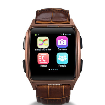 SmartWatch X2 andriod os bluetooth leather ip67 waterproof smart watch
