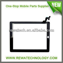 High Quality Black Digitizer for iPad 2 Touch with Frame Frame China Supplier